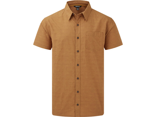Sherpa Sikeka Shirt Men daal yellow